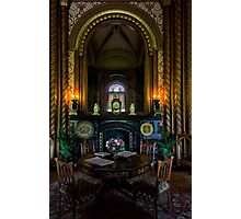 Penrhyn castle-Room3 Photographic Print