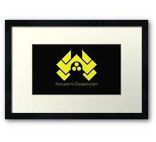 die hard nakatomi corporation logo Framed Print