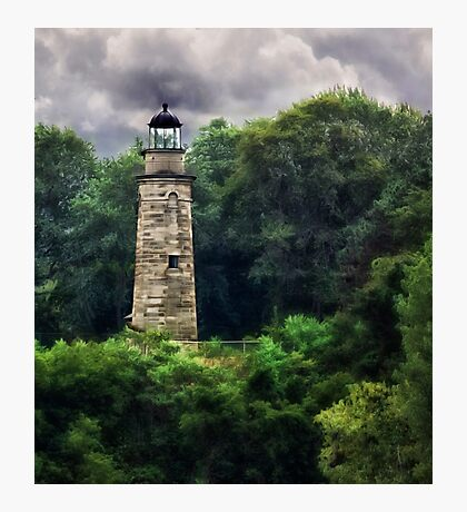 Erie Land Lighthouse - Erie, PA Photographic Print