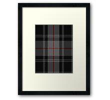 02913 Moffat Family/Clan Tartan  Framed Print