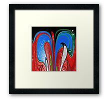 AB198 Abstract Framed Print