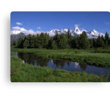 Grand Teton Reflection Canvas Print