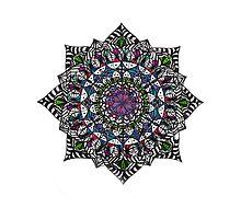 Mandala #3 by Emkaey