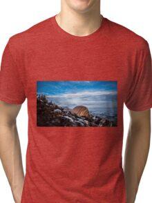St. Anns Bay Beach - Cape Breton Tri-blend T-Shirt