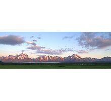 Grand Teton Sunrise Photographic Print