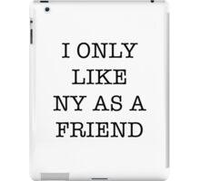 I Love NY/I Heart NY parody <3 iPad Case/Skin