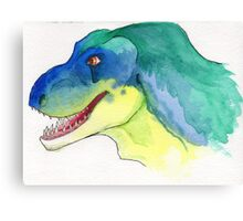 Happy Tyrannosaurus Rex Canvas Print