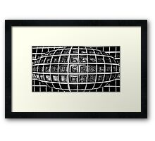 AB204 Abstract Framed Print