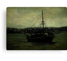 Homecoming Pirate Canvas Print