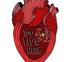 You Live Here by Nameless Artwork