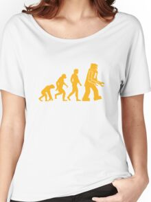 Sheldon Cooper - The Big Bang Theory Robot Evolution Women's Relaxed Fit T-Shirt