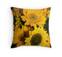 Sunflowers Pillow Throw Pillow