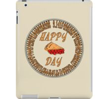 Happy Pi Day iPad Case/Skin