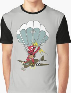 508 PARATROOPERS CARTOON Graphic T-Shirt