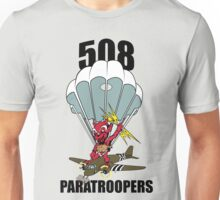 508 PARATROOPERS CARTOON Unisex T-Shirt