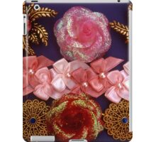 Rosette Ribbon Collage iPad Case/Skin
