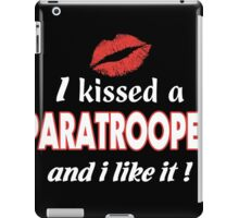 airborne  T-shirt , paratrooper wings, paratrooper wife, paratrooper girlfriend, paratrooper mom, paratrooper army,  iPad Case/Skin