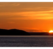 Puget Sound Sunset Sticker