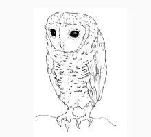 Little Owl - black ink Unisex T-Shirt