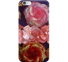 Rosette Ribbon Collage iPhone Case/Skin