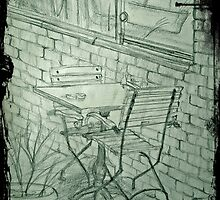 cafe,love table by dilayilkdogan