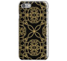 gold vintage pattern iPhone Case/Skin