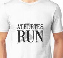 Athletes Run Unisex T-Shirt