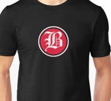 B Red Chevron Unisex T-Shirt