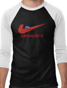 Kazoo kid - Just Kazoo It (Nike style) Men's Baseball ¾ T-Shirt