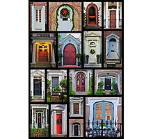 Doors of Charleston Photographic Print