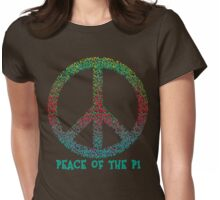 Peace of the Pi for Pi Day Womens Fitted T-Shirt