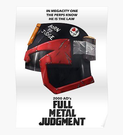 Full Metal Mashup!!! - Born to Judge Poster