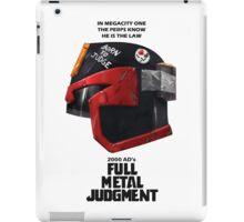 Full Metal Mashup!!! - Born to Judge iPad Case/Skin
