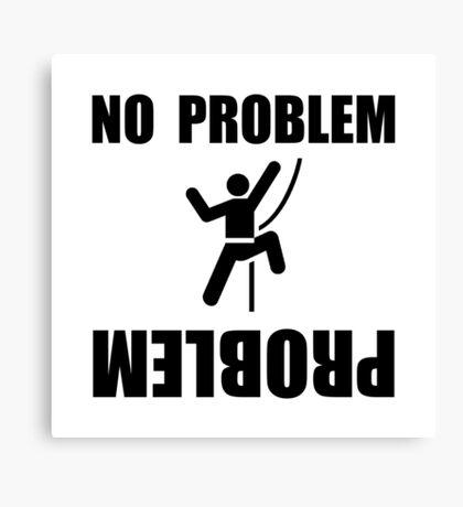 Climbing Problem Canvas Print