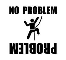 Climbing Problem Photographic Print
