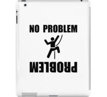 Climbing Problem iPad Case/Skin
