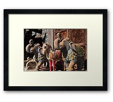 Antiques Store Framed Print