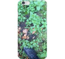 Stepping in city green iPhone Case/Skin