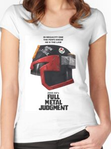 Full Metal Mashup!!! - Born to Judge Women's Fitted Scoop T-Shirt