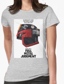 Full Metal Mashup!!! - Born to Judge Womens Fitted T-Shirt