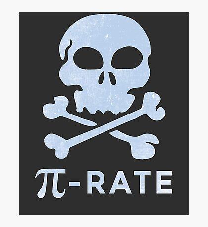 PI DAY Humor Pi-Rate Photographic Print