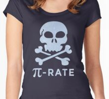 PI DAY Humor Pi-Rate Women's Fitted Scoop T-Shirt