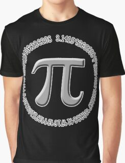 Silver Pi Graphic T-Shirt