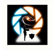 Space Portal Art Print