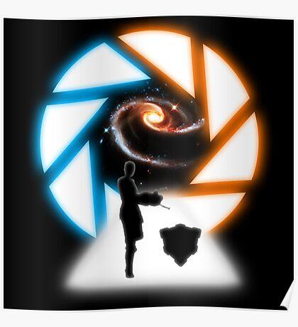 Space Portal Poster