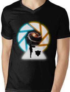 Space Portal Mens V-Neck T-Shirt