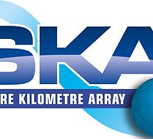 The New Square Kilometer Arry Program Logo by MGR Productions