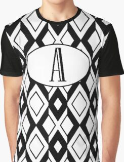 A Diamonds Graphic T-Shirt