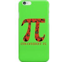 Strawberry Pi iPhone Case/Skin