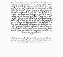 Captain Wentworth's Letter Unisex T-Shirt